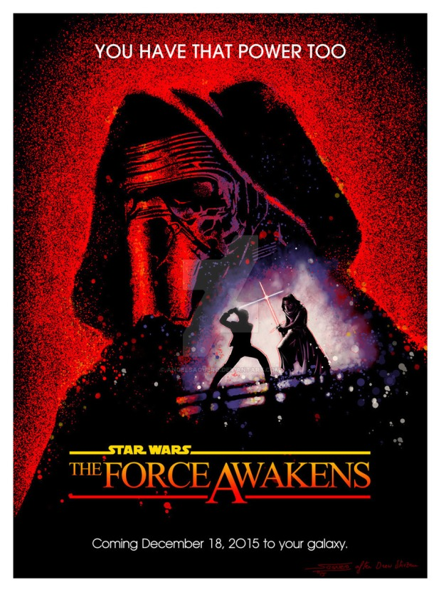 the_force_awakens__fan_poster__by_angelsaquero-d8r3bif